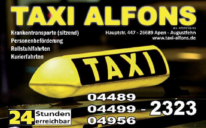 Taxi Alfons